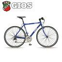 【レビューを書いて防犯登録無料】2014 GIOS ジオス PURE FLAT ピュアフラット(クロスバイク)