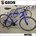GIOS MISTRAL 「ジオス ミストラル」 ジオス ブルー 2018 GIOS (ジオス) MISTRAL (ミストラル) クロスバイク