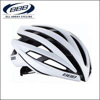BBB ヘルメット 自転車 154855 イカロス ブラック/ホワイト M (52-58cm)【ロードバイク】 【02P03Dec16】 ★の画像