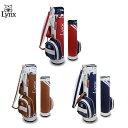 リンクス ゴルフ クラシックバッグ LXCB-1000 スリム カート キャディバッグ LYNX ゴルフバッグ