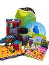 【中古】【輸入品 未使用未開封】Travel Activity Bag Kit for Kids - Keep children busy on the aeroplane or in the car. For boys or girls age 6-12. Backpack toys games c