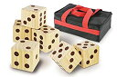 (Jumbo Wood Dice Set) - KOVOT Oversize Games