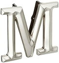 【中古】【輸入品・未使用未開封】Monogram Letter M Door Knocker - Nickel Silver by Michael Healy Designs