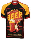 【中古】【輸入品・未使用未開封】認定ビールテスターCycling Jersey by Worldジャージメンズ半袖 XL