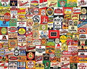 【中古】【輸入品・未使用未開封】White Mountain Puzzles Beer Labels - 1000 Piece Jigsaw Puzzle [並行輸入品]