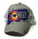 【中古】【輸入品・未使用未開封】I Love Colorado Beer HAT ユニセックス・アダルト US サイズ: One Size カラー: グレー