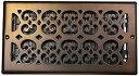 【中古】【輸入品・未使用未開封】Decor Gratesスクロールスチールメッキアンティーク壁登録 6 inch X 12 inch FBA_sp612w-a 1