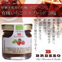 BREZZO社 有機いちごのスプレッド 38g【10P03Dec16】