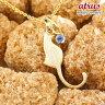 猫 ネックレス タンザナイト 一粒 ペンダント イエローゴールドk10 ネコ ねこ 12月誕生石 10金 レディース チェーン 人気