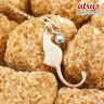 【送料無料】猫 ネックレス ブルームーンストーン 一粒 ペンダント ピンクゴールドk18 ネコ ねこ 6月誕生石 18金 レディース チェーン 人気