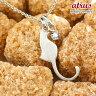 猫 ネックレス アクアマリン 一粒 シルバーペンダント ネコ ねこ 3月誕生石 sv レディース チェーン 人気