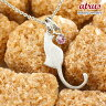 猫 ネックレス ピンクトルマリン 一粒 ペンダント ホワイトゴールドk10 ネコ ねこ 10月誕生石 10金 レディース チェーン 人気