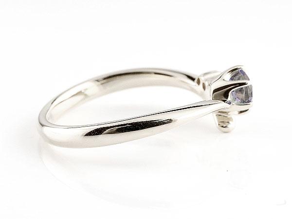 【送料無料】婚約指輪 エンゲージリング アイオライト ホワイトゴールドk10リング ダイヤモンド 指輪 ピンキーリング 一粒 大粒 k10 レディース 贈り物 誕生日プレゼント ギフト 気品に満ちた華やかさ 誕生石エンゲージリング 手作り