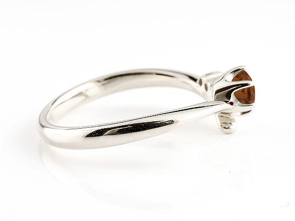 【送料無料】婚約指輪 エンゲージリング ガーネット プラチナリング ダイヤモンド 指輪 ピンキーリング 一粒 大粒 pt900 レディース 1月誕生石 贈り物 誕生日プレゼント ギフト 気品に満ちた華やかさ 誕生石エンゲージリング 手作り