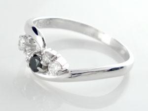 【送料無料】エンゲージリング 婚約指輪 ブラックダイヤモンド ダイヤモンド リング ダイヤ 指輪 ホワイトゴールドk18 18金 ダイヤモンドリング ストレート 贈り物 誕生日プレゼント ギフト エンゲージリング婚約指輪ゴールドダイヤモンドリング手作り人気