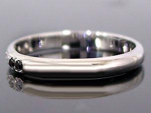 【送料無料】エンゲージリング 婚約指輪 ブラックダイヤモンド ダイヤ 0.03ct ホワイトゴールドk18 18金 ダイヤモンドリング ストレート 2.3 贈り物 誕生日プレゼント ギフト エンゲージリング婚約指輪ゴールドダイヤモンドリング手作り人気