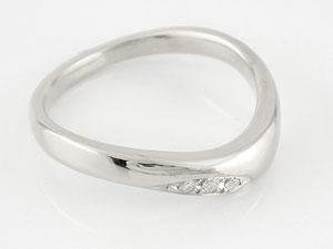 【送料無料】 V字 婚約指輪 エンゲージリング ダイヤモンド ホワイトゴールドk18 18金 ダイヤモンドリング ウェーブリング ダイヤ 贈り物 誕生日プレゼント ギフト エンゲージリング婚約指輪ゴールドダイヤモンドリング手作り人気
