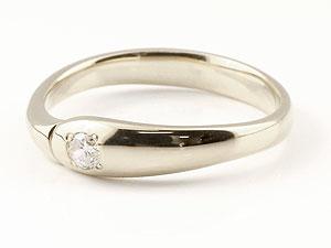 【送料無料】エンゲージリング 婚約指輪 ダイヤモンド プラチナリング 指輪 ダイヤモンドリング ダイヤ ピンキーリング シンプル 一粒 ストレート レディース ブライダルジュエリー ウエディング 贈り物 誕生日プレゼント ギフト 美しい煌めき 一粒ダイヤモンドのしっかりとした存在感