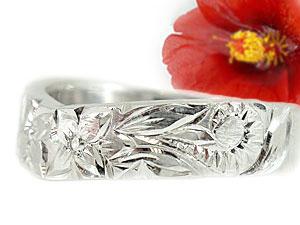 【送料無料】ハワイアンジュエリー ペアリング 人気 結婚指輪 シルバー マリッジリング 地金リング sv925 ストレート カップル 贈り物 誕生日プレゼント ギフト 結婚指輪 ペアリングハワイアン 手彫り マリッジリング 人気