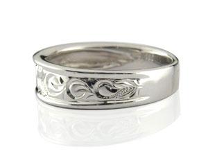 ハワイアンジュエリー プラチナ 結婚指輪 マリッジリング ペアリング 人気 地金リング pt900 ストレート カップル 贈り物 誕生日プレゼント ギフト 結婚指輪 ペアリングハワイアン 手彫り マリッジリング 人気
