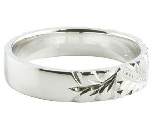 【送料無料】ハワイアンジュエリー ペアリング 人気 プラチナ 結婚指輪 マリッジリング 地金リング pt900 ストレート カップル 贈り物 誕生日プレゼント ギフト 結婚指輪 ペアリングハワイアン 手彫り マリッジリング 人気