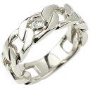 メンズ 喜平 リング ダイヤモンド プラチナ 喜平リング 指輪 pt900 キヘイ 鎖 ダイヤ 一粒 幅広 男性用 エンゲージリングのお返し