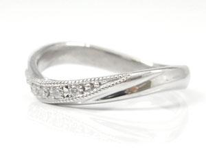 【送料無料】ペアリング ダイヤモンド 結婚指輪 マリッジリング プラチナ ミル打ち 結婚式 ダイヤ カップル 贈り物 誕生日プレゼント ギフト 結婚指輪 プラチナ 指輪 リング マリッジ リング 結婚