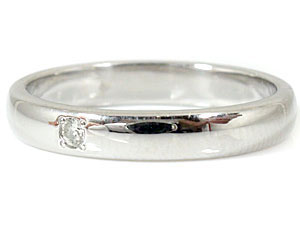 【送料無料】甲丸 ペアリング 結婚指輪 一粒 ダイヤ ダイヤモンド ブルーダイヤモンド ホワイトゴールドk18 結婚式 18金 ダイヤ ストレート カップル 贈り物 誕生日プレゼント ギフト 結婚指輪 ゴールド 指輪 リング マリッジ リング 結婚