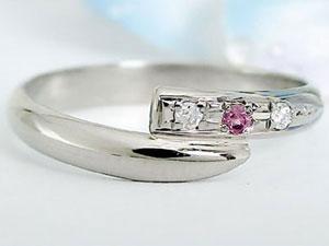 【送料無料】甲丸 ペアリング 結婚指輪 ダイヤモンド ピンクサファイア プラチナ 結婚式 ダイヤ ストレート カップルブライダルジュエリー ウエディング 贈り物 誕生日プレゼント ギフト 結婚指輪 プラチナ 指輪 リング マリッジ リング 結婚