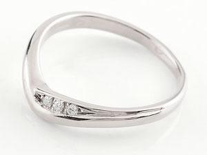 【送料無料】V字 ペアリング ハードプラチナ950 結婚指輪 マリッジリング プラチナ ダイヤモンド 結婚式 ウェーブリング pt950 ダイヤ カップル 贈り物 誕生日プレゼント ギフト 純度の高いハードプラチナ950 結婚指輪 人気