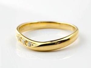 【送料無料】 ペアリング 結婚指輪 マリッジリング ダイヤモンド ダイヤ イエローゴールドk18 結婚式 18金 カップル ブライダルジュエリー ウエディング 贈り物 誕生日プレゼント ギフト 結婚指輪 ゴールド 指輪 リング マリッジ リング 結婚