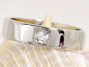 【送料無料】ペアリング プラチナ900 ダイヤ ダイヤモンド ソリティア 結婚指輪 マリッジリング 結婚式 ダイヤ ストレート カップル 贈り物 誕生日プレゼント ギフト 結婚指輪 プラチナ 指輪 リング マリッジ リング 結婚