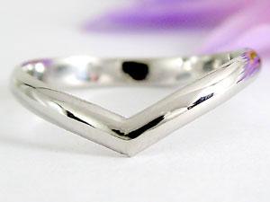 【送料無料】V字 ペアリング ダイヤモンド 結婚指輪 ホワイトゴールドk18 マリッジリング 結婚式 18金 ウェーブリング ダイヤ カップル 2.3 贈り物 誕生日プレゼント ギフト 結婚指輪 ゴールド 指輪 リング マリッジ リング 結婚