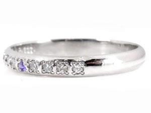 【送料無料】ペアリング ダイヤモンド 結婚指輪 マリッジリング アメジスト 甲丸 ホワイトゴールドk18 18金 ダイヤ ストレート カップル 贈り物 誕生日プレゼント ギフト 結婚指輪 プラチナ 指輪 リング マリッジ リング 結婚