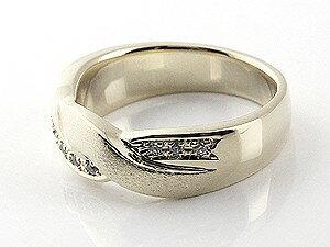 【送料無料】ペアリング キュービックジルコニア 結婚指輪 マリッジリング 幅広 つや消し シルバー ストレート カップル 贈り物 誕生日プレゼント ギフト キュービックジルコニア シルバー ペアリング