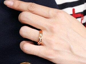 【送料無料】ペアリング 結婚指輪 ダイヤモンド マリッジリング ダイヤモンドリング ピンクゴールドk18 18金  幅広 結婚式 人気 ダイヤ ストレート カップル 贈り物 誕生日プレゼント ギフト 天然ダイヤモンド 結婚指輪 マリッジリング 幅広