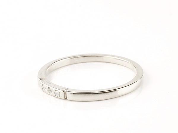 【送料無料】結婚指輪 マリッジリング ペアリング ダイヤモンド スイートペアリィー シルバー925 結び リング sv925 華奢 ストレート まるで着けていない様な着け心地 極細ペアリング