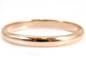 【送料無料】ペアリング ピンクゴールドK10 結婚指輪 マリッジリング 10金 ストレート カップル 贈り物 誕生日プレゼント ギフト 価格が安いk10 人気のレディース 手作り 天然宝石 工房直販