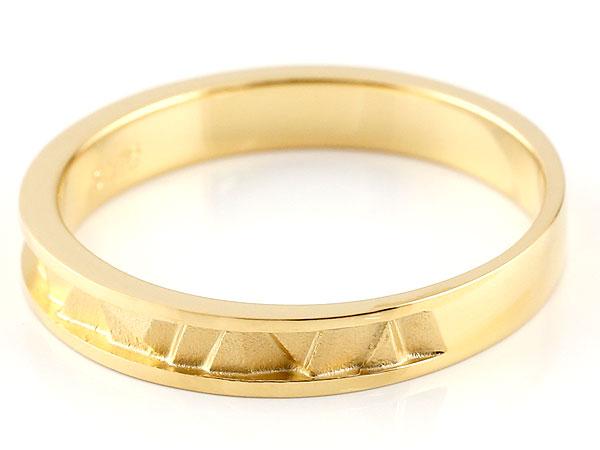 ペアリング イエローゴールドk10 マリッジリング 結婚指輪  ストレート カップル 18金 宝石なし 地金 贈り物 誕生日プレゼント ギフト 結婚指輪 指輪 リング マリッジ ペアリング