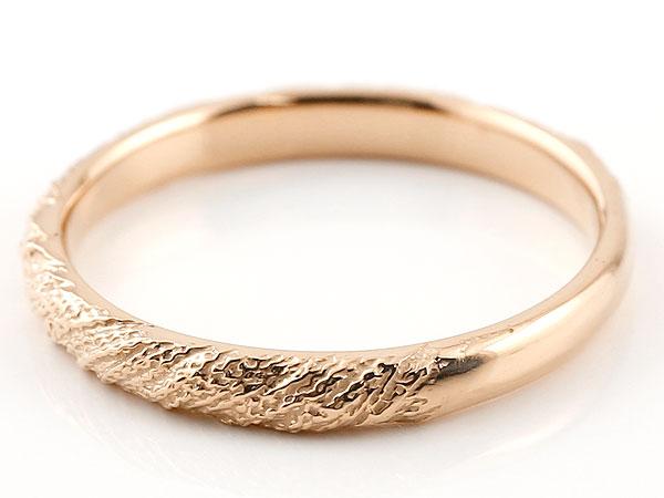 【送料無料】ペアリング 結婚指輪 マリッジリング ピンクゴールドk18 プラチナ900 pt900 アンティーク 結婚式 ストレート 18金 地金リング カップル 贈り物 誕生日プレゼント ギフト 結婚指輪 サプライズプレゼント マリッジリング 人気