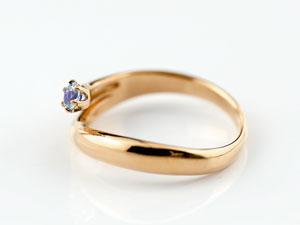 【送料無料】アメジスト リング 指輪 ピンクゴールドk18 2月誕生石 18金 ストレート ファッションリング 贈り物 誕生日プレゼント ギフト アメジスト リング 指輪 ピンクゴールドk18 2月誕生石