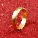ショッピングピンキーリング 純金 24金 ゴールド k24 幅広 指輪 ピンキーリング ホーニング加工 つや消し 地金リング 16-20号 ストレート レディース 送料無料