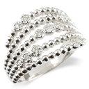 ショッピング安い プラチナ リング レディース ダイヤモンド 婚約指輪 安い エンゲージリング ダイヤ 幅広 ボール 指輪 ピンキーリング pt900 宝石 女性 送料無料