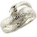 ショッピングピンキーリング 蛇リング 指輪 スネーク ヘビ ピンキーリング シルバー 地金リング シンプル レディース 宝石なし 送料無料