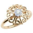 ショッピングトーン 18金 リング ゴールド ブルームーンストーン レディース 指輪 ピンクゴールドk18 婚約指輪 安い エンゲージリング ピンキーリング アラベスク アンティーク