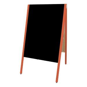 A型看板(特大)SAI-C90Rチョーク用レッド枠・黒板・木製・両面サイロA型ブラックボードチョークタイプ