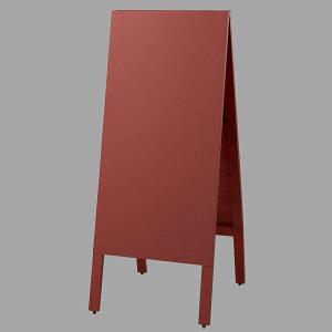 A型看板TBD94-1チョーク用赤板・木製・両面