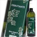 【 DEBUTANT シャインマスカット2012 】アルプスワイン/[甲州ワイン][白ワイン][国産ワイン][日本ワイン][山梨 ワイン]10P03Dec16