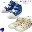 ダブルB【DOUBLE B】ガーリー♪キッズシューズ(15cm-19cm)