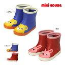 ミキハウス【MIKI HOUSE】つま先にプッチー&うさこ☆レインブーツ(長靴)(13cm-18cm)